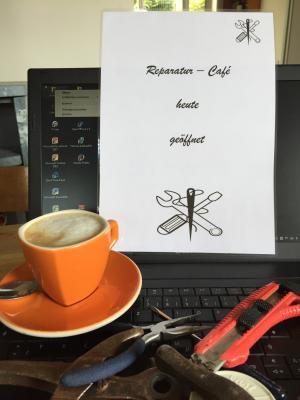 Maintaler Reparatur Café öffnet wieder am 20. Mai