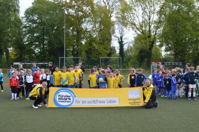 Foto zur Meldung: 20. KJSS im Fußball 10.05.2017 in Brieske