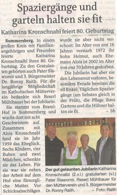 Auszug Der Bayerwald Bote 13.05.2017