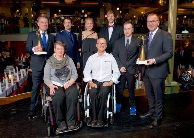 Foto zur Meldung: Wahl Behindertensportler 2017