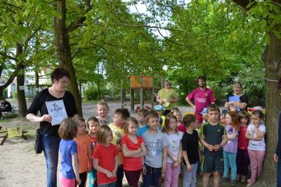 """Foto zur Meldung: """"Immer in Bewegung mit Fritzi"""" in Calau gestartet"""