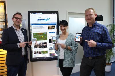 Vorschaubild zur Meldung: Pilotprojekt zur Digitalisierung: Sontra.digital