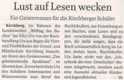 Auszug Der Bayerwald Bote 18.05.2017