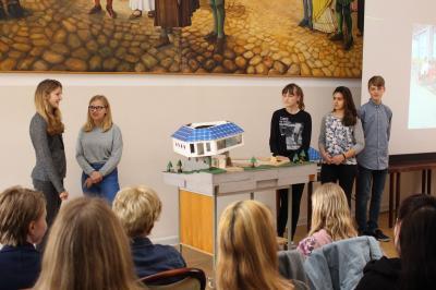 Präsentation (Foto: Stadt Wittstock/Dosse)