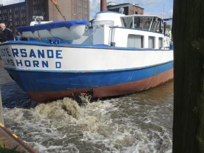 Vorschaubild zur Meldung: Elmshorner Schiff nimmt Kurs auf Wittenberge I Reise kann im Internet verfolgt werden