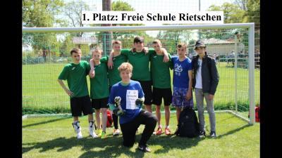 Foto zur Meldung: Fußballturnier der Freien Schulen