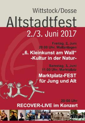 Vorschaubild zur Meldung: Kleinkunst und Konzerte beim Wittstocker Altstadtfest