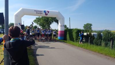 Foto zur Meldung: 1.Moorgrund-Skiroller-Marathon