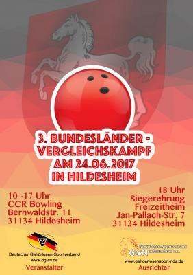 Foto zur Meldung: Bundesländerbegegnungen im Bowling 2017 in Hildesheim