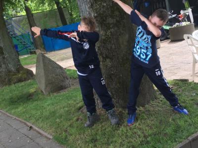 Foto zur Meldung: E1-Jugend - Vorzeitiger Aufstieg perfekt