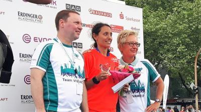 Foto zur Meldung: Sigrid Bühler gewinnt VIVAWEST Marathon im Ruhrpott
