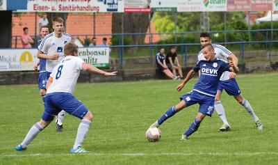 Foto zu Meldung: I. Herren - Germania ringt SV Essel nieder