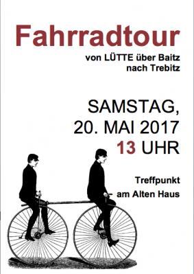 Foto zur Meldung: Fahrradtour nach Brück