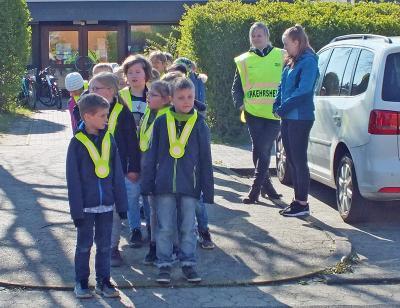 Foto zur Meldung: Kinder der Grundschule Danndorf erhielten Fußgängerdiplome
