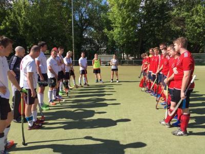 Foto zur Meldung: 2. Hockey-Herren gegen den BSRK