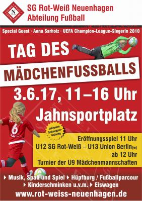 Foto zur Meldung: Tag des Mädchenfußballs
