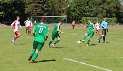 Foto zur Meldung: A-Jugend verliert letztes Spiel