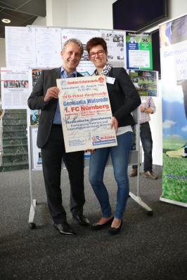 Foto zur Meldung: Germania präsentiert sich in Wolfsburg