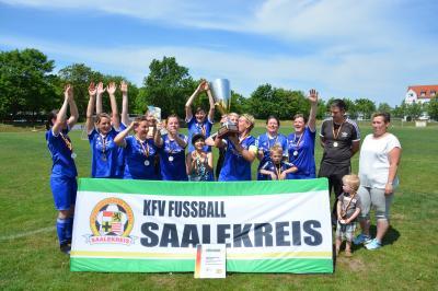 SV Großgräfendorf Kreismeister Frauen 2016/2017