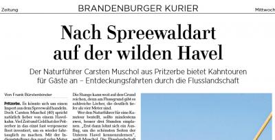 Foto zur Meldung: Havelkahnfahrten beim Sommerfest (24.6.)