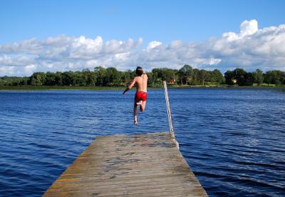 Foto zu Meldung: Offizielle Badesaison ist eröffnet