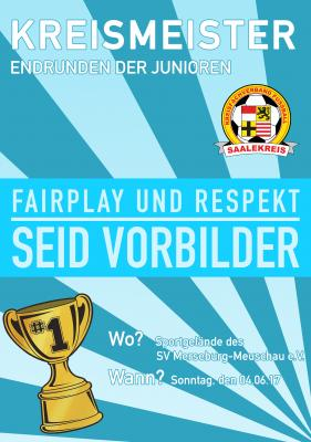 Foto zur Meldung: Mitteilung Jugendausschuss: Kreismeisterschaftsendrunden 2016/2017
