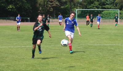 Foto zur Meldung: C-Jugend unterliegt dem Rostocker FC