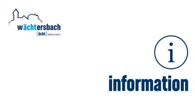 Vorschaubild zur Meldung: Bürgerservice am Freitag, 14. Juli 2017 geschlossen