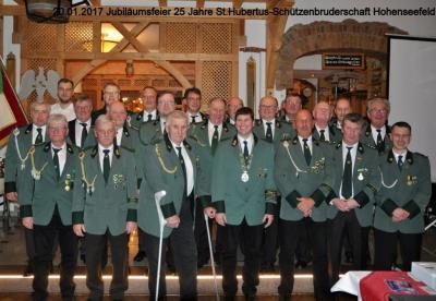 Foto zur Meldung: 25 Jahre St. Hubertus SBS Hohenseefeld e.V.