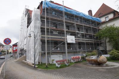 Vorschaubild zur Meldung: Bauarbeiten im Selbitzer Rathaus