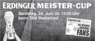 Foto zur Meldung: ERDINGER Meister- Cup