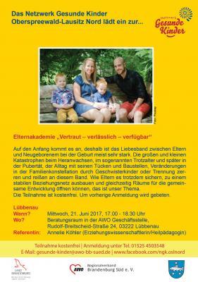 """Foto zu Meldung: Themenabend zum Thema """"Frühkindliche Bindung"""""""