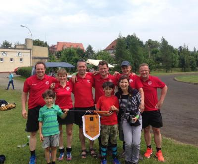 Foto zur Meldung: Die Unglaublichen Fritzen bei den Old Boys in Polen