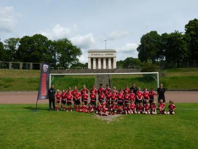 Foto zur Meldung: Schanzer-Fußballschule – voller erfolg
