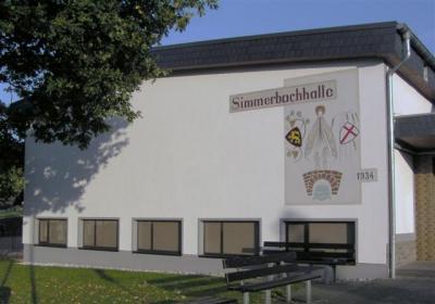 Foto zu Meldung: Nutzung der Simmerbachhalle
