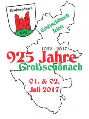 Vorschaubild zur Meldung: Internetseite www.925-jahre-grossschoenach.de ist online