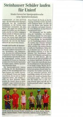 Foto zu Meldung: Bericht in der Schwäbischen Zeitung vom 06.06.2017
