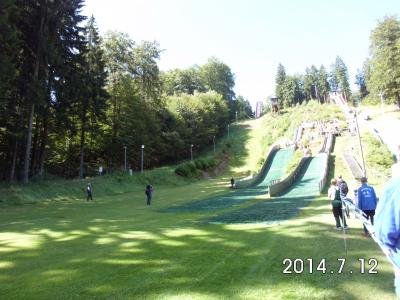 Foto zur Meldung: Offene Skibezirksmeisterschaften Mattenskispringen/Nord.Komb.