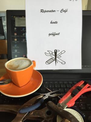Aufschrauben, Austauschen, Flicken, Spaß haben und Kaffee trinken heißt es wieder am Samstag, 17. Juni, im Reparatur Café im Stadtteilzentrum Bischofsheim.