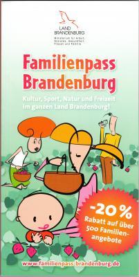 Foto zur Meldung: Familienpass Brandenburg beim Tourismusverein Westhavelland e.V. erhältlich