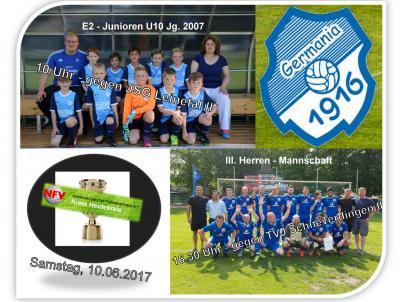 Foto zur Meldung: Kreispokalfinale 2017