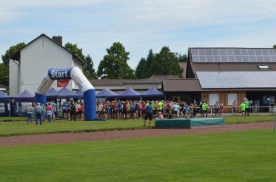 Vorschaubild zur Meldung: Etappenmarathon 2017 - Start in Förste