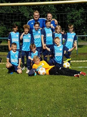 Foto zur Meldung: E2-Junioren - Kreispokalfinale - Sieger der Herzen