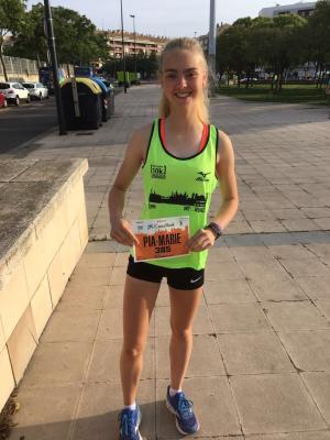Foto zur Meldung: Laager Mädchen lebt und läuft in Spanien