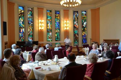 Foto zur Meldung: Bürgermeister empfing aktive Seniorinnen und Senioren im Rathaus