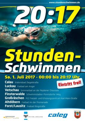 Foto zu Meldung: 20:17 Stundenschwimmen