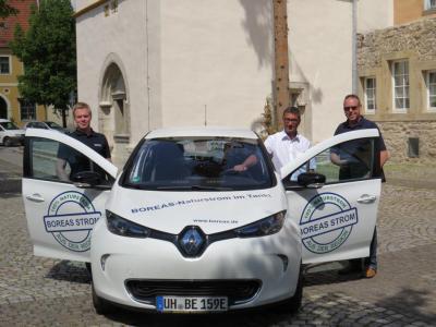 Foto zur Meldung: Elektromobilität für Bad Tennstedt