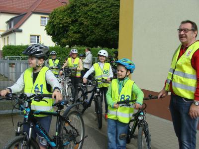 Foto zur Meldung: Sicher mit dem Fahrrad unterwegs