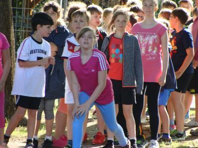Foto zur Meldung: Sport und Spiel am Kindertag