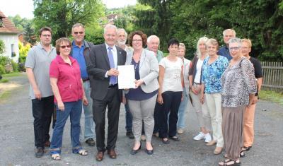 Vorschaubild zur Meldung: Wächtersbach - Dorfentwicklung Stadtteil Hesseldorf